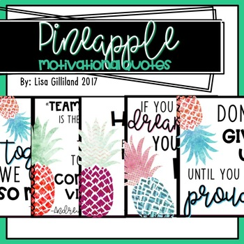Pineapple Themed Quotes