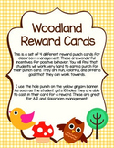 Woodland Reward Punch Card