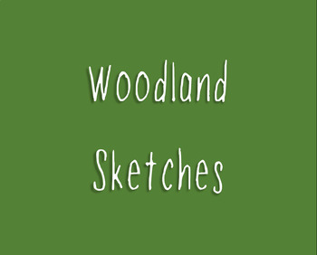 Woodland Sketches - Font for Personal and Commercial Use
