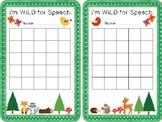 Woodland Speech Therapy Sticker Sheet
