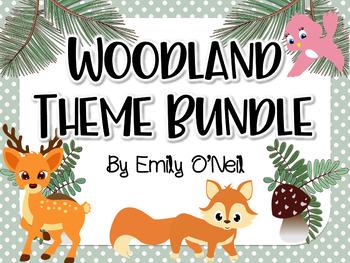 Woodland Theme Bundle