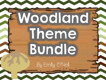 Woodland Theme Bundle