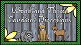 Woodland Theme Cardinal Directions Poster Set