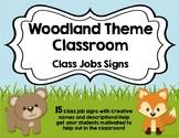 Class Job Charts - Woodland Theme
