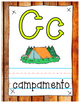 Woodland Theme Classroom Alphabet SPANISH