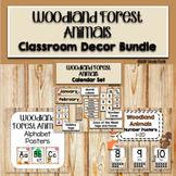 Woodland Animals Classroom Theme Decor Bundle
