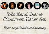 Woodland Theme Classroom Decor Set