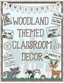 Woodland Theme - Classroom Decoration - All in One Bundle UPDATED