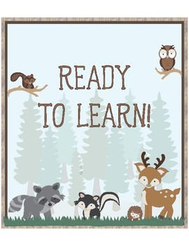 Woodland Theme - Classroom Decoration - Behavior Chart