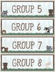 Woodland Theme - Classroom Decoration - Group Labels