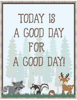 Woodland Theme - Classroom Decoration - Quote Posters