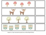 Woodland Theme Counting File Folder Games (Sums 0-20)