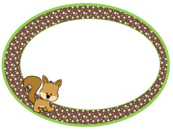 """Woodland or Camp Theme """"You Rule"""" Easy Fit Oval Rules Posters"""