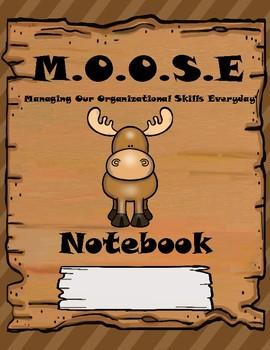 Woodland Themed Data Notebook