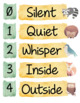 Woodland Themed - Voice Level Chart - EDITABLE