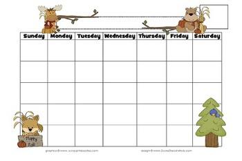 Woodland Welcome- Calendars