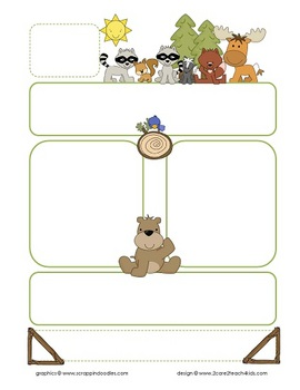 Woodland Welcome- Preschool Open House Forms and Classroom Forms