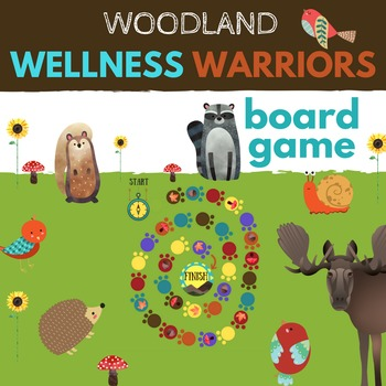 Woodland Wellness Game & Conversation Starters *Resilience