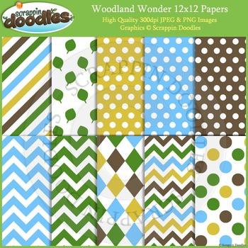 Woodland Wonder Backgrounds
