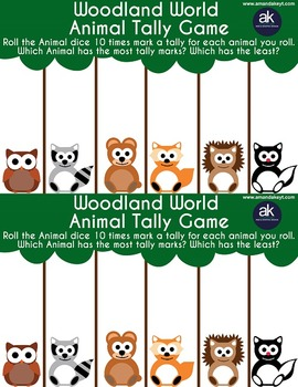 Woodland World Games Printable Pack