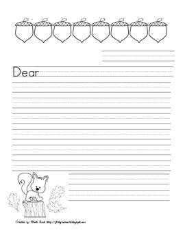 Woodland Writing Choice Board Packet