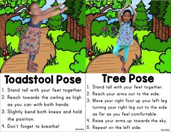 Woodland Kids Yoga