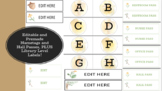Woodland and Burlap: Nametags, Library Labels, and Hall Passes