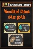 Woodland theme class goals