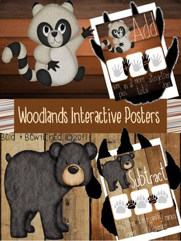 Woodlands Interactive Posters