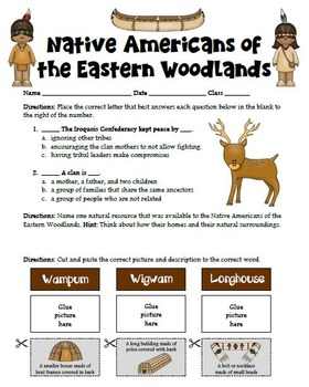 Eastern Woodlands Native American Modified Research