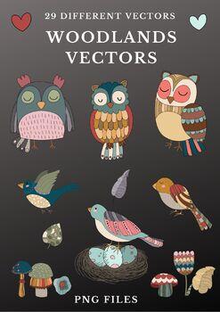 Woodlands Vectors