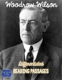Woodrow Wilson Differentiated Reading Passages