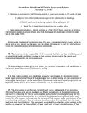 Woodrow Wilson's 14 Points for Peace Summarizing Activity