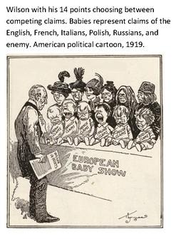 Woodrow Wilson's Fourteen Points Word Search