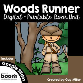Woods Runner Novel Study: vocabulary, comprehension, writing, skills