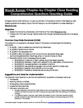 runner close reading comprehension questions essay topics woods runner close reading comprehension questions essay topics
