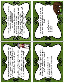 Woods Runner Task Cards (CC Aligned)