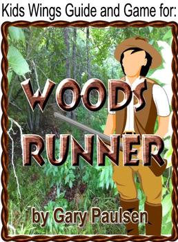woods runner by gary paulsen novel study by kids wings tpt rh teacherspayteachers com Running Shoe Guide Runner's World Runners Training Guides
