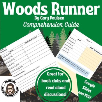 Woods Runner by Gary Paulsen Comprehension Questions and Vocabulary Guide