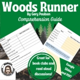 Woods Runner by Gary Paulsen Comprehension Questions and V