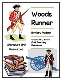 """Woods Runner"", by Gary Paulsen, Literature Unit, 73 total pages!!"