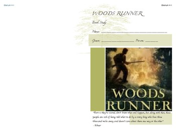 Woods Runner by Gary Paulsen Novel Study Booklet