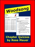 Woodsong by Gary Paulsen Chapter Quizzes Book Novel Study Activities
