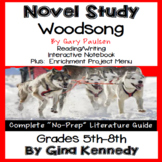 Woodsong Novel Study & Enrichment Project Menu
