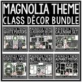 Modern Magnolia Farmhouse Classroom Decor Theme Newsletter Template Editable