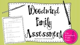 Woodwind Family Assessment