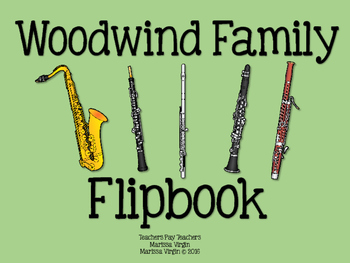 Woodwind Family - Instrument Flipbook