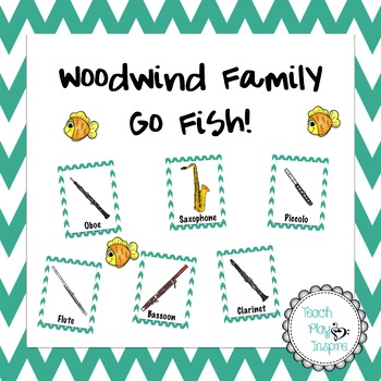 Woodwind Family Matching Game