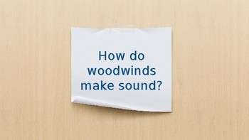 Woodwind Family Lesson