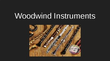 Woodwind Family Powerpoint
